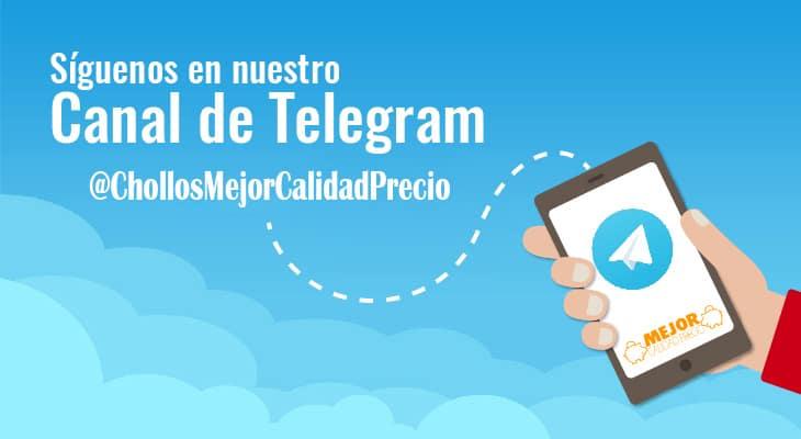 canal telegram chollos ofertas mejor calidad precio