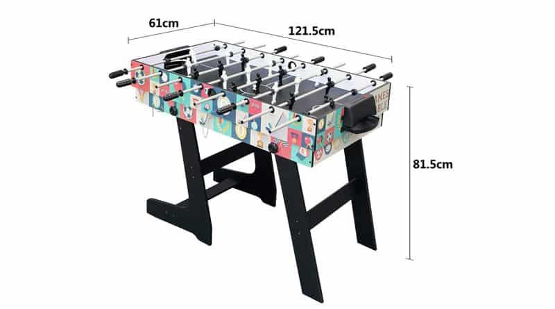 mesa de juegos futbolin