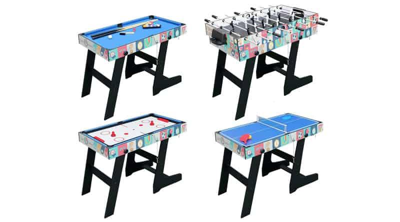 Mesa plegable de juegos