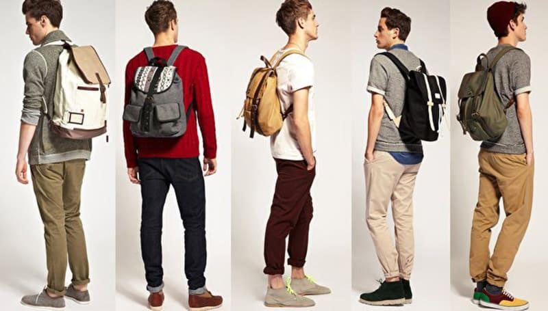 mochilas escolares de hombre