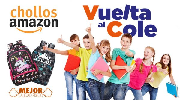 vuelta al cole amazon 2019