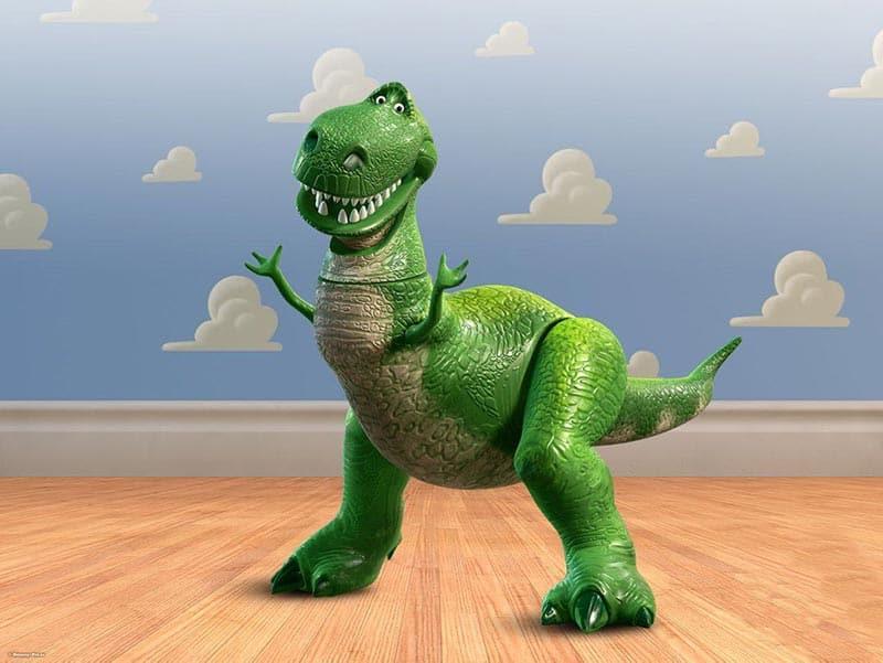 muñeco rex toy story