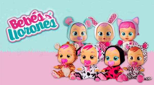 comprar muñeco bebe lloron
