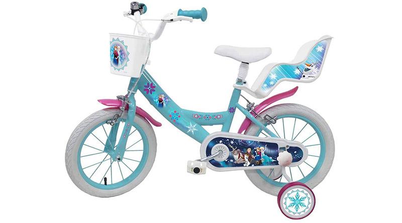 bicicleta barata frozen