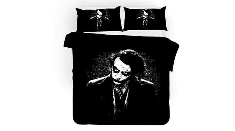 ropa de cama del joker