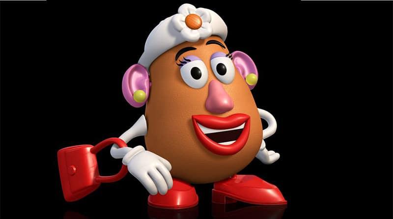 mujer señor potato