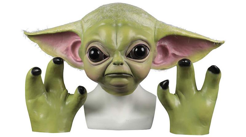 disfraz de baby yoda