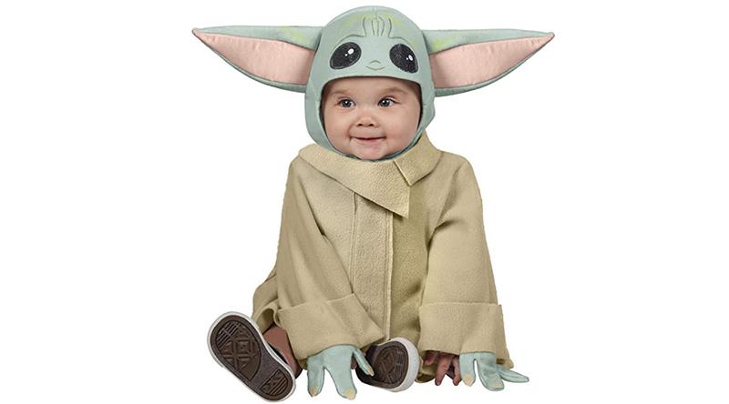 disfraz de baby yoda barato
