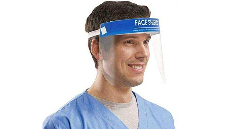 Pantalla para la cara con Banda Elástica