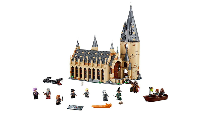 castillo harry potter lego barato