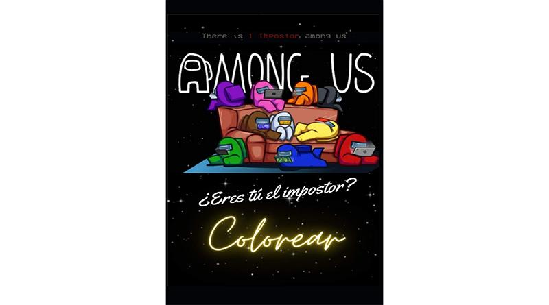libro among us para colorear