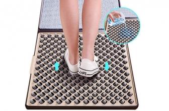 Alfombra Desinfectante y Dispensadores Desechables de Zapatos
